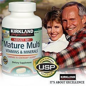 Kirkland signature mature adults multivitamins & minerals