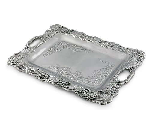 Grape Serving Tray (Arthur Court Grape Clutch Tray)