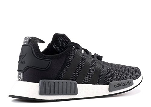 adidas Originals NMD_R1 Shoe – Men s Casual 8 Core Black Carbon White