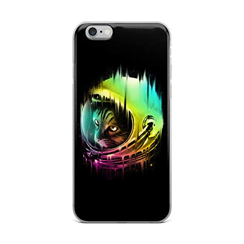 - iPhone 6 Plus/6s Plus Case Anti-Scratch Creature Animal Transparent Cases Cover The Intergalactic Wanderer Animals Fauna Crystal Clear