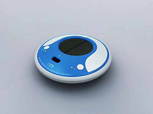 Renshengyizhan@ The air purifier/negative ion humidifier/Solar Charge Voltage/Car Cleaner/kill harmful bacteria, Blue