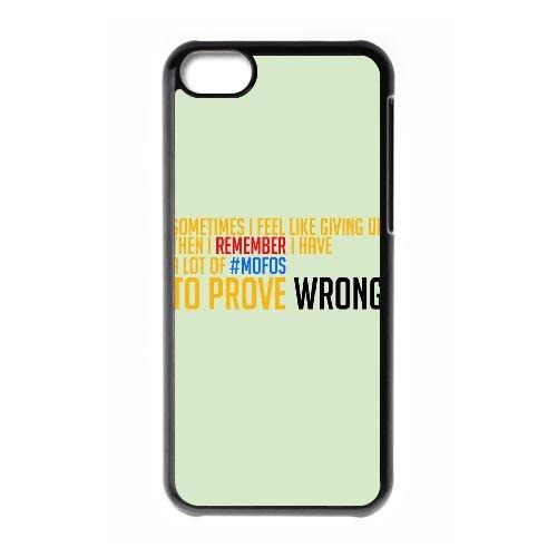 J4V68 parfois je me sens comme abandonner T3P7BP cas d'coque iPhone de téléphone cellulaire 5c couvercle coque noire KV4MWG8EF