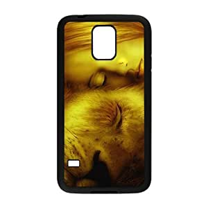 Personalized Vintage Skin Durable Rubber Material Samsung Galaxy s5 Case - Lion