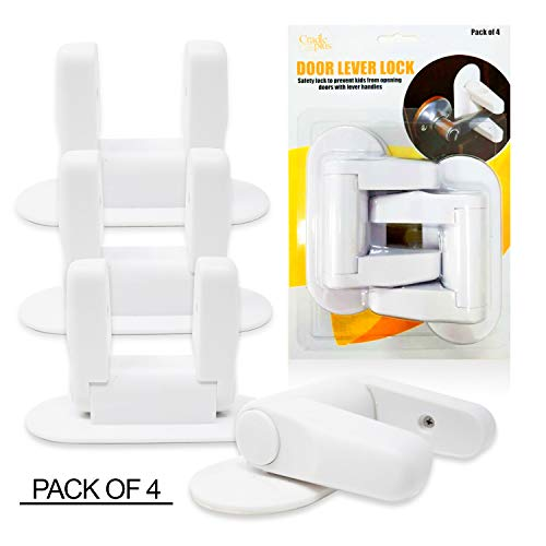 Locks Amp Latches Baby Proofing Door Lever Locks Pack