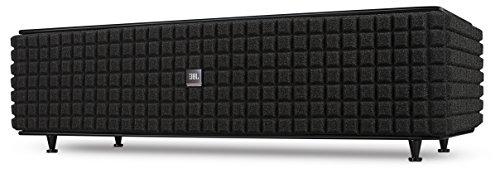 JBL Authentics L8 - Sistema de altavoces domestico dispositivos iOS y Android (2-vías, Bluetooth, NFC, WiFi, AirPlay, Spotify Connect), color negro