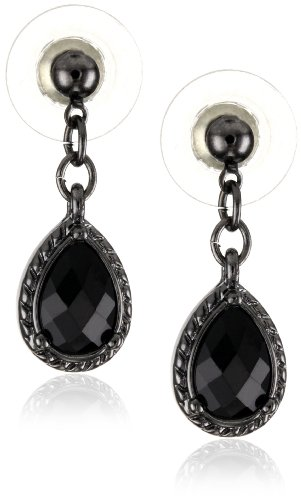 1928-Jewelry-Black-Victorian-Inspired-Petite-Teardrop-Earrings