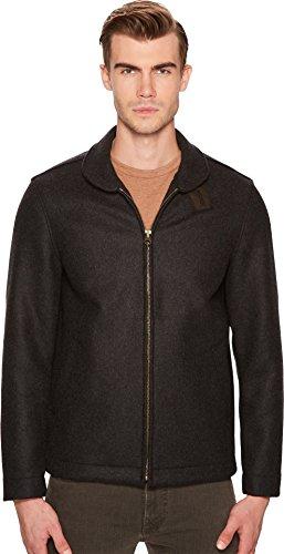 Billy Reid Men's Deck Coat Charcoal X-Large