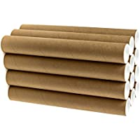 Black Cardboard   3.5 x 25 Acurit Mailing Tubes for Shipping and Storage