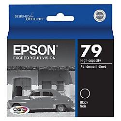 Epson T079120 Claria Hi-Definition Black High Capacity Cartridge (79 High Capacity Black Ink)
