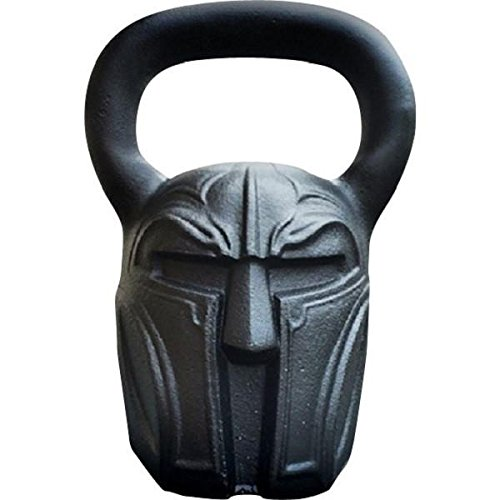54 lbs Spartan Exercise kettlebell - Crossfit, HIIT kettlebell for Strength Training | Forearm & Fitness kettle Weights by Gorilla Fitness