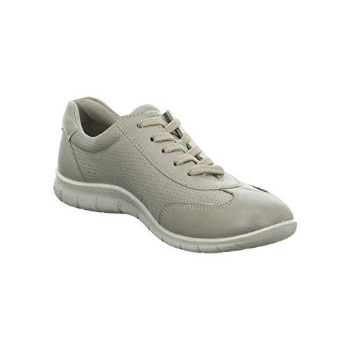 Ecco Babett - Zapatos de cordones para mujer - Moon Rock/Moon Rock