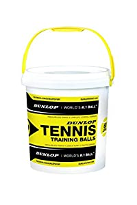 Dunlop Tennisball Training - drucklos, Gelb, One size, 605052