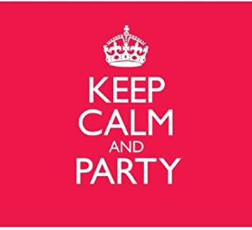 keep calm and party amazon co uk music