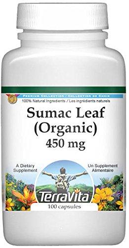 Sumac Berry (Organic) - 450 mg (100 Capsules, ZIN: 516466)