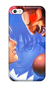 Tpu Phone Case With Fashionable Look For Iphone 5/5s - Street Fighter