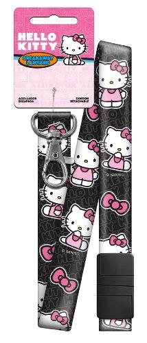 Hello Kitty Black and Pink Breakaway Lanyard (SRL3) ()