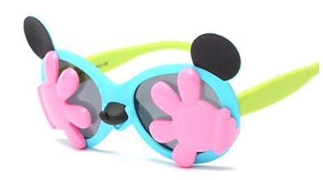 QIAO Gafas de protección UV para niños, Gafas de Sol ...