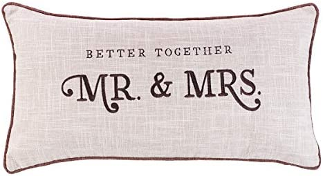With Love Better Together – Mr. Mrs. Rectangular Pillow, Better Together Collection