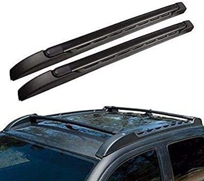 For 05-19 Toyota Tacoma Double Cab Roof Rack Side Rails Luggage Carrier Bar