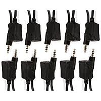 C&E 10 Pack, IR Extender Cable Receiver 5-Feet, CNE580371