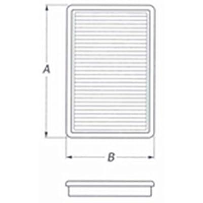 BMC FB319/01 Sport Replacement Air Filter: Automotive