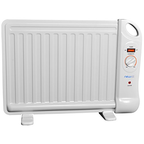 NewAir AH-400 Portable Space Heater, White