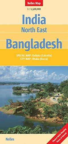 India North East, Bangladesh (Nelles Maps)