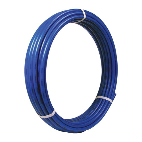 SharkBite PEX Pipe Tubing 3/8 Inch, Blue, Flexible Water Tube, Potable Water, U855B100, 100 Foot Coil