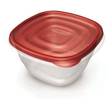 4-Piece Square Food Storage Container