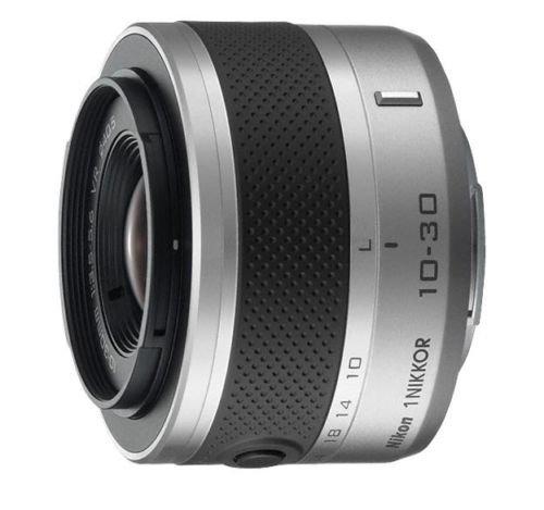 Nikon 1 Nikkor 10-30mm f/3.5-5.6 VR II Nikor-Zoom Lens (Silver) International Model (Bulk Packaging)
