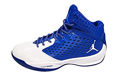 Nike Jordan RISING HIGH mens basketball-shoes 768931 (10 D(M) US, Game Royal/White-Photo Blue-Infrared 23)