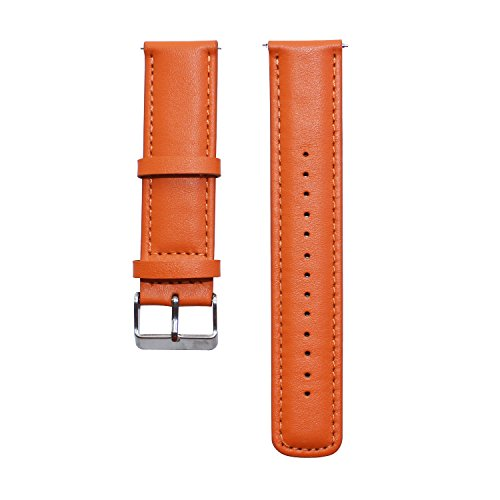 GOOQ Leather Watchband Wristband Smartwatch