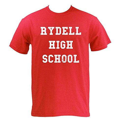 UGP Campus Apparel Rydell High School Mens T-Shirt - Medium - Red