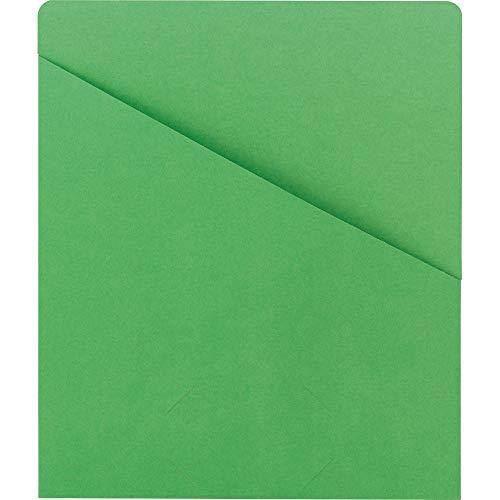 SMD75432 - Smead 75432 Green Slash Jackets