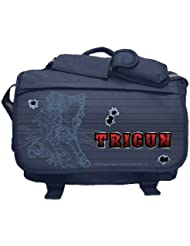 Trigun: Vash Line Art Anime Messenger Bag