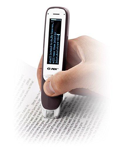 C-Pen Dictionary - Handheld OCR Pen Scanner, 6 Language, Text to Speech Built-In Voice Recorder C610D