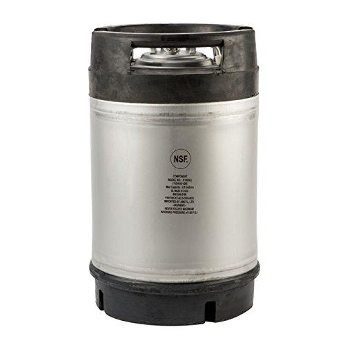KEGWORKS Ball Lock Homebrew Cornelius Keg - 2.5 Gallon - New