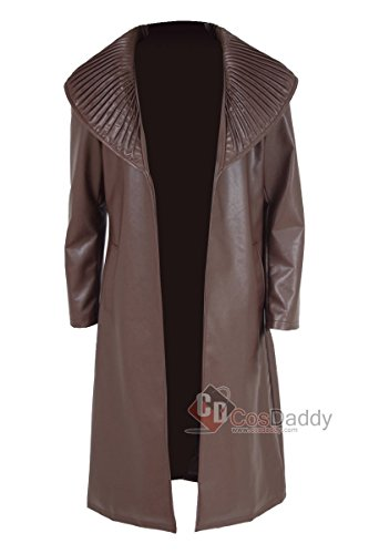 Khan Costume Star Trek Into Darkness (Cosdaddy® Mens Cosplay Costume Brown Trench Coat Fashion Outfit (Custom made))