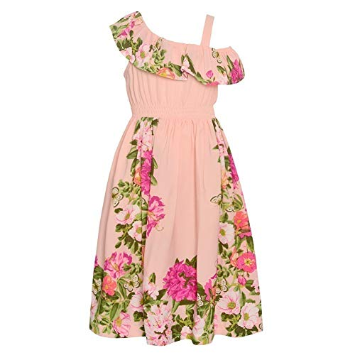 - Bonnie Jean Girl's Pink Hawaiian Dress for Little and Big Girls (7)