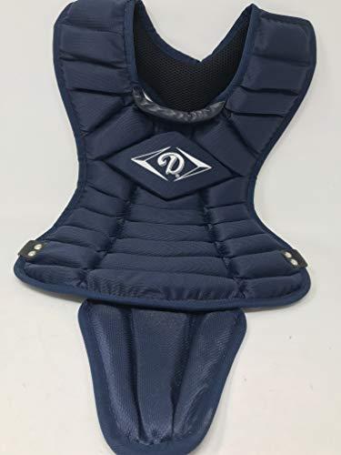 Diamond Sports Body Length Chest Protector (14.5-Inch, Navy)