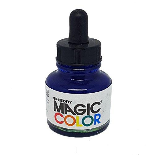 Ink Pigmented Cyan - Magic Color MC530 28ml Liquid Acrylic Ink, Cyan