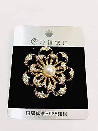 Fashioninn brooch for women .gold - 2725611975414