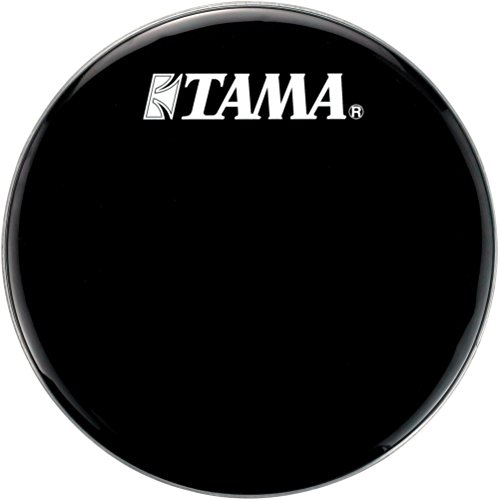 (Tama Logo Resonant Bass Drum Head 22 in. Black)