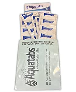Aquatabs Water Purification Tablets 100/pack