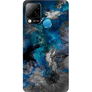 BuyFeb Back Cover Case Compatible for Infinix Hot 10s (Silicon Soft Printed Mobile Cover) – Design219