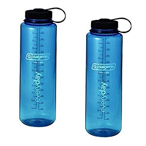 Nalgene Silo 48oz Tritan Wide Mouth Bottle 2 Pack