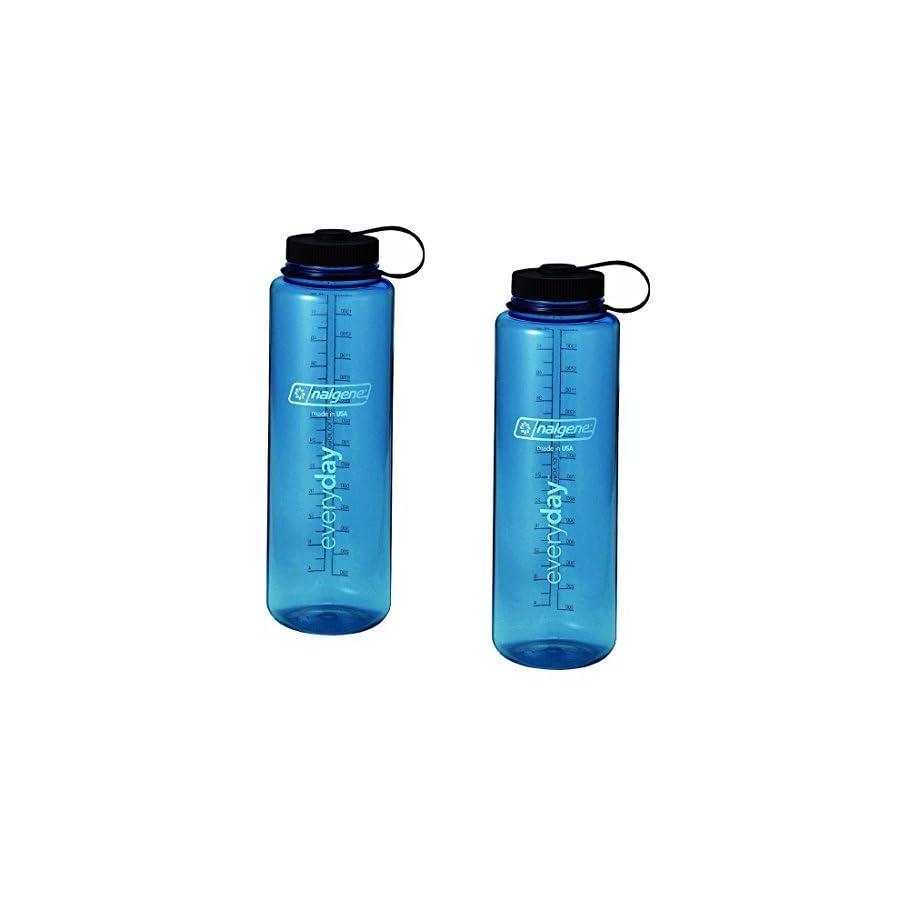 Nalgene Silo 48oz Tritan Wide Mouth Bottle 2 Pack