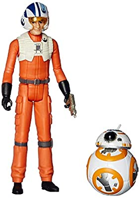 Star Wars Resistance Animated Series 3.75-inch Poe Dameron and BB-8 Figure 2-Pack