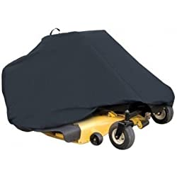 Classic Accessories 73997 Zero Turn Riding Lawn Mower Cover, Black, Up to 50`` De ;from#joobest; TRYK54272215485439