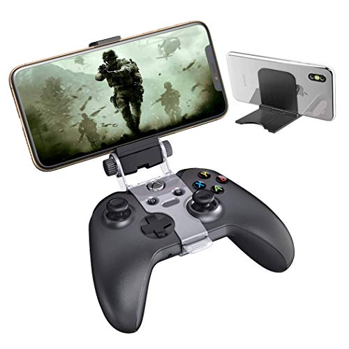 Xbox One Controller Stream Play Mount Clip, OIVO Xbox Controller Phone Holder Clamp with Adjustable Stand Compatible with Xbox One,Xbox One S, Xbox One X